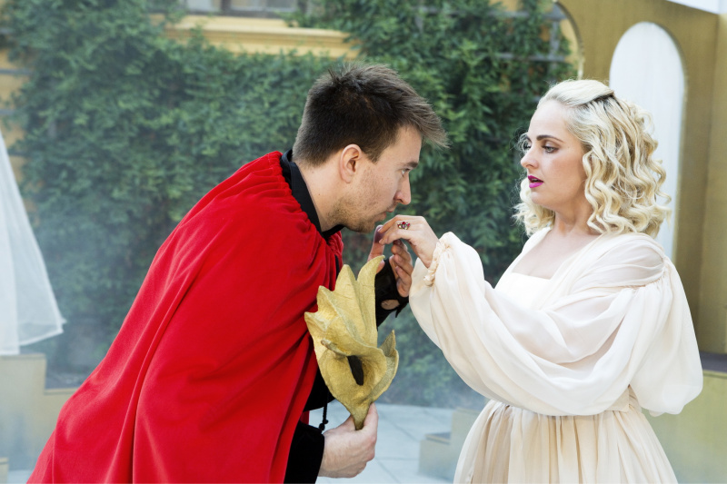 Petra Staňková a Pavel Šupina okouzlili diváky jako Romeo a Julie