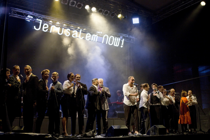 Koncertní verzi muzikálu si vychutnali i diváci v Čechách