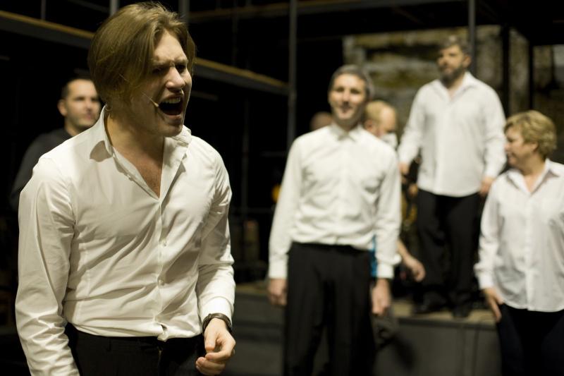 Martin Hudec v muzikálu Jesus Christ Superstar
