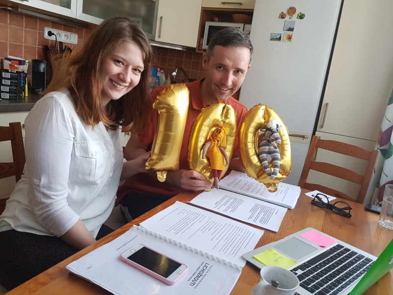 Tereza Hrabalová a David Vacke absolvovali 100. workshop