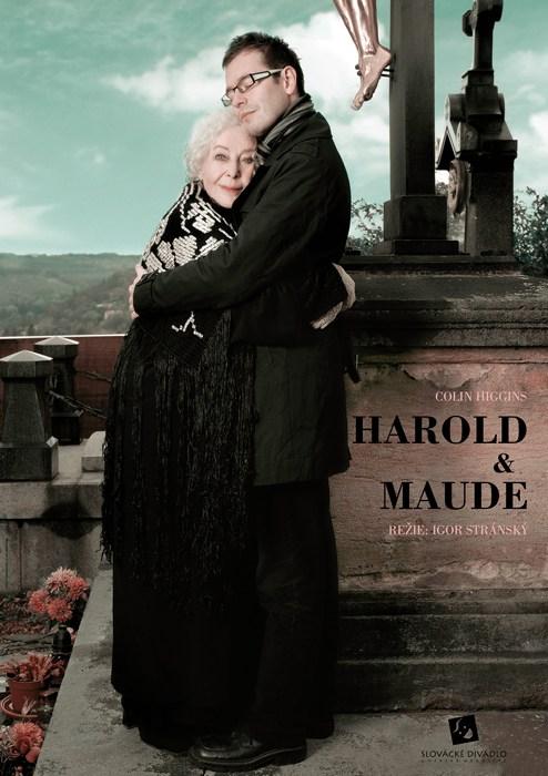 Harold a Maude, plakát - Eva Jiřikovská©2010, foto Petr Kurečka