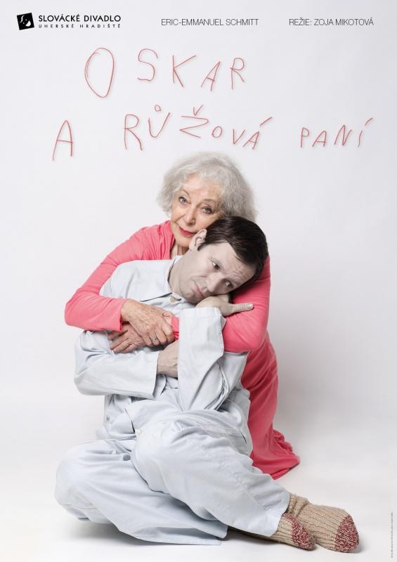 Oskar a růžová paní, plakát - Eva Jiřikovská©2011, foto Petr Kurečka