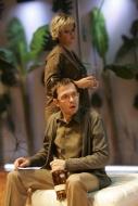 jako Michal Houillé v komedii Bůh masakru, spolu s Irenou Vackovou (Veronika Houilléová) - foto Jan Karásek