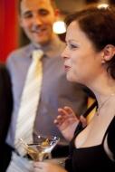 po premiéře komedie Peklo v hotelu Westminster v březnu 2014, v pozadí D. Vacke - foto Marek Malůšek