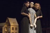 Deník Anne Frankové - Jitka Josková, Anne Franková, Alžběta Kynclová - foto Marek Malůšek