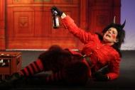 jako Bc. Služební čert v pohádkové komedii Dalskabáty hříšná ves aneb Zapomenutý čert - foto Jan Karásek
