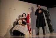 jako Manka Smržová v inscenaci Kalibův zločin, vpravo Kamil Pulec (Smrž) - foto Jan Karásek.JPG