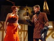 Cyrano - Anna Michlíčková, Pavel Hromádka (hrabě de Guiche), foto Miroslav Potyka