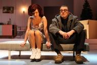 jako Doktor Rank v dramatu Nora, vlevo T. Novotná (Nora) - foto Jan Karásek