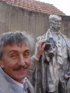 zahajovací zkouška na Maryšu v Těšanech u Brna (rodišti R. Těsnohlídka), duben 2005 - foto Miroslav Potyka