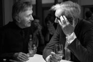 s režisérem J. A. Pitínským po premiéře Alenky v kraji divů a za zrcadlem v červnu 2015 - foto Marek Malůšek