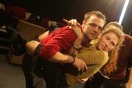 s Tomášem Šulajem, ze zkoušky inscenace 39 stupňů, 2011 - foto Jan Karásek