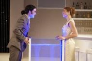 jako Emilia Galotti v inscenaci Emilia Galotti, vlevo Zdeněk Trčálek (Hrabě Appiani) - foto Petr Krejčí