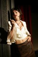 jako Druhá žena v inscenaci Agatománie (uváděno na Malé scéně) - foto Jan Karásek