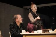 jako Marie Konopáčová v dramatu Kalibův zločin, vlevo Kamil Pulec (Smrž) - foto Jan Karásek