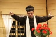 jako farář Ignác Loula v komedii Dalskabáty hříšná ves aneb Zapomenutý čert - foto Jan Karásek
