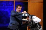 jako Komorník hraběte von Kratzmara v muzikálu Adéla ještě nevečeřela - foto Milan Zámečník