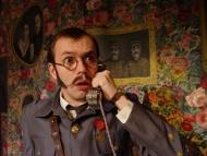 jako Generál James Audubon Wilson de la Petardiere-Frenouillou v komedii Svačinka generálů - foto Miroslav Potyka
