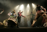 jako Talimon v muzikálu Cikáni jdou do nebe - foto Jan Karásek