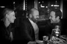 Čarodějnice v kuchyni, po premiéře - manželé Kamila a Michal Zetelovi a režisér Michal Skočovský - foto Marek Malůšek