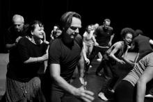 Taneční workshop pod vedením choreografky Lindy Fernandez Saez