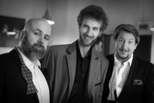 Ředitel Michal Zetel, režisér Roman Groszmann; dramaturg, režisér, pedagog a herec Miroslav Ondra