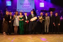 Slovácký Oskar pro nejoblíbenější hru Kříž u potoka a jeho realizační tým