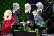 V žabím pyžamu; s kolegy Pavlínou Hejcmanovou, Terezou Novotnou, Martinem Vrtáčkem a Petrem Čagánkem