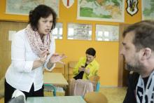 Úča musí pryč!; s kolegou Petrem Čagánkem