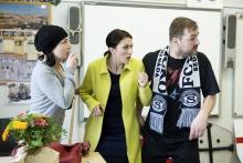 Úča musí pryč!; s kolegy Terezou Novotnou a Petrem Čagánkem